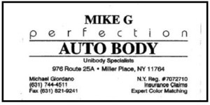 Mike G Perfection Auto Body