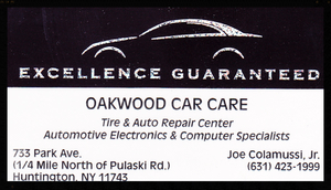 Oakwood Car Care